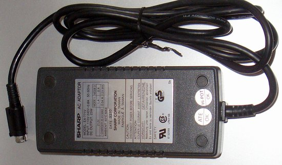 Picture of: ea-771v sharp / 21.2v 23w 4 pin ea771v ac adapter laptop power supply and tech talk, comments, help & reviews.