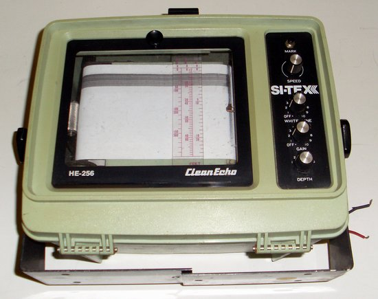 Picture of: si-tex paper graph fish finder he-256 and tech talk, comments, help & reviews.