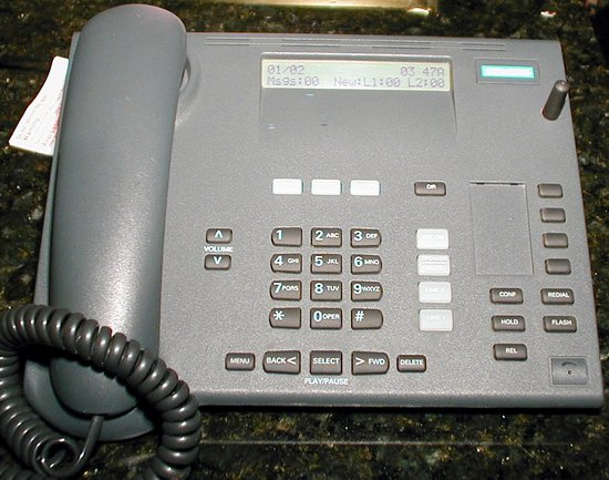 Picture of: siemens gigaset 2420 desk station business telephone 2-line and tech talk, comments, help & reviews.