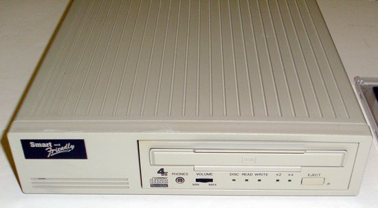 Picture of: external scsi cd-rw smart and friendly cd rom read write and tech talk, comments, help & reviews.
