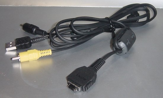 Picture of: sony cybershot usb av cable digital camera dsc-w50,w55,w70,w90,w100,n1 and tech talk, comments, help & reviews.