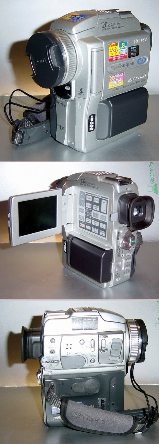 Picture of: sony handycam dcr-pc110 minidv camcorder and tech talk, comments, help & reviews.