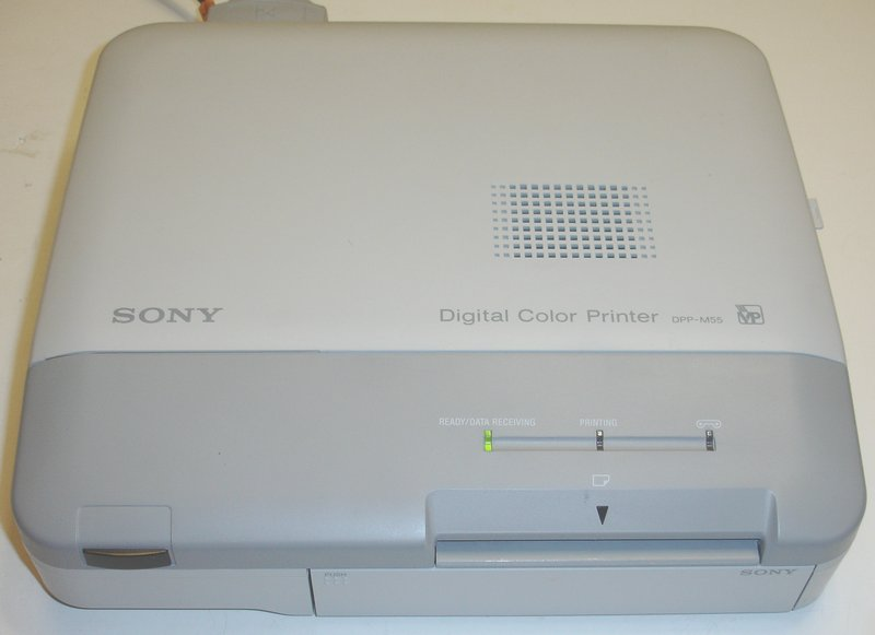 Picture of: sony dpp-m55 digital photo printer and tech talk, comments, help & reviews.