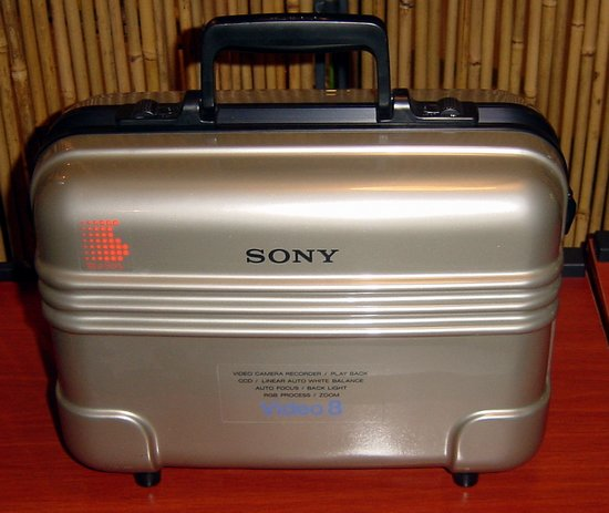 Picture of: sony lcv814 hard carrying case ccd-v3 v30 v30e lc-v814 camcorders and tech talk, comments, help & reviews.