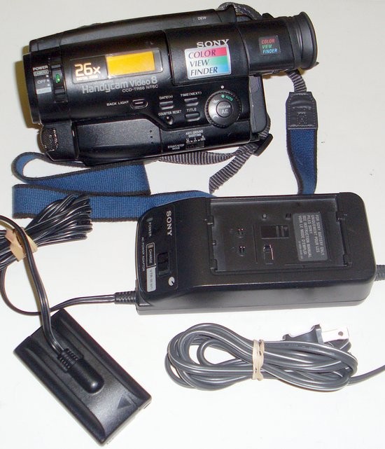 Picture of: sony ccd-tr66 8mm analog camcorder handycam and tech talk, comments, help & reviews.