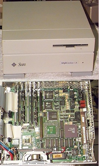 Picture of: sun sparcstation lx, 1gb hd unix - sparc and tech talk, comments, help & reviews.