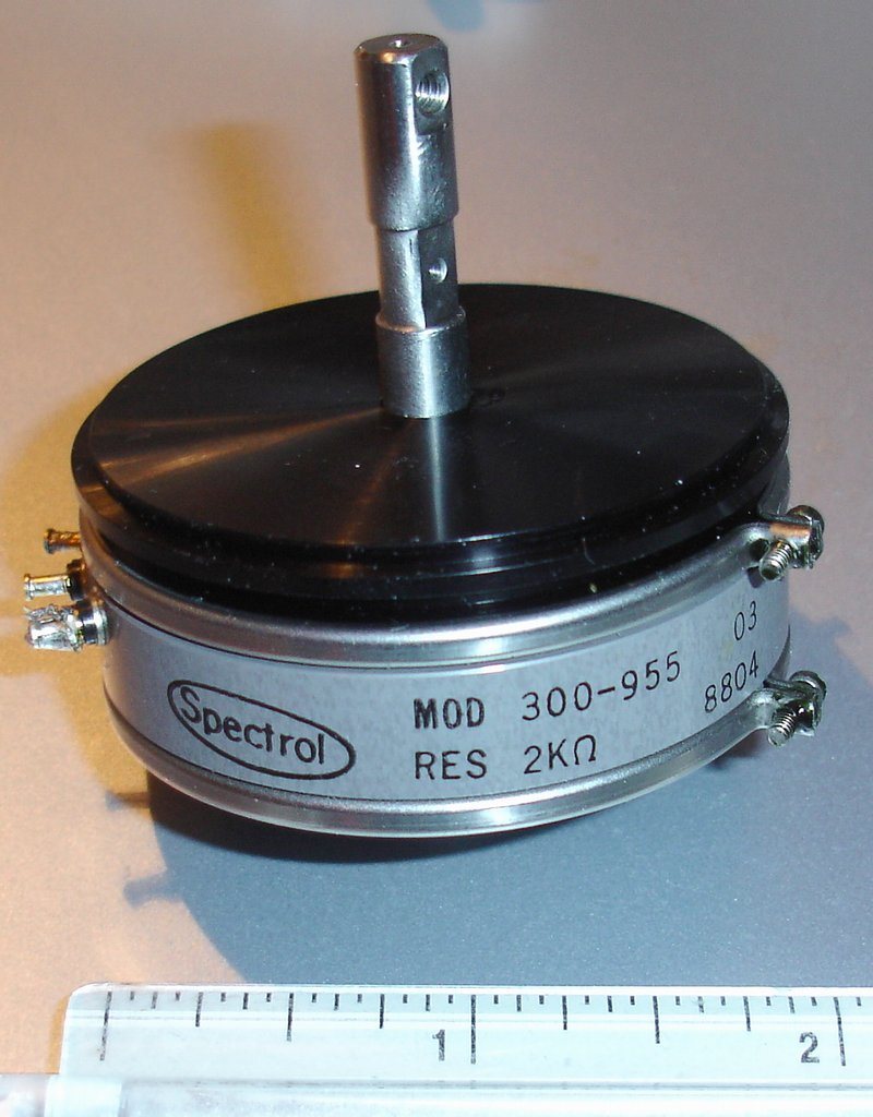 Picture of: vishay spectrol 300-955 2 single-turn wirewound 360 continuous precision pot potentiometer servo mount and tech talk, comments, help & reviews.