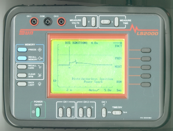 Picture of: automotive digital storage oscilloscope (dual channel) sun ls2000 and tech talk, comments, help & reviews.