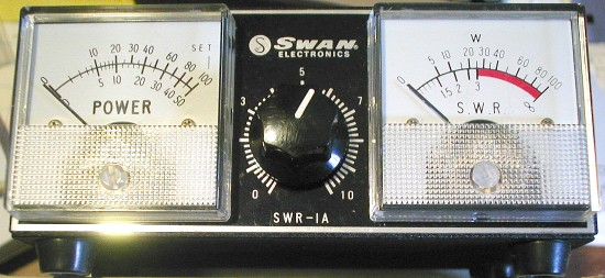 Picture of: swr rf power meter wattmeter swan swr-1a - siltronix swr1a and tech talk, comments, help & reviews.