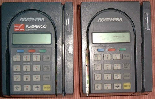 Picture of: credit card telecheck terminal accelera 000-8900 and tech talk, comments, help & reviews.