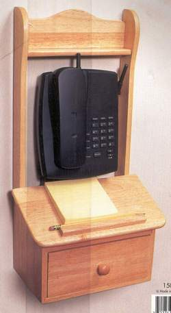 Picture of: telephone organizer wall stand and tech talk, comments, help & reviews.