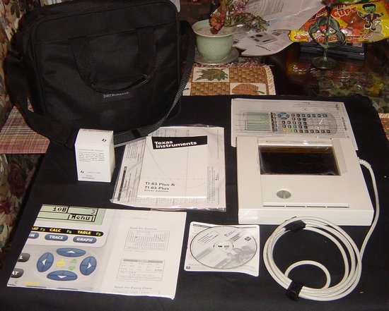 Picture of: texas instruments ti viewscreen 73,80,81,82,83 plus  and tech talk, comments, help & reviews.