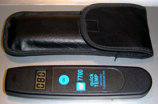 Picture of: tif 7700 quick temp ir infrared thermometer 0f to 600f  and tech talk, comments, help & reviews.