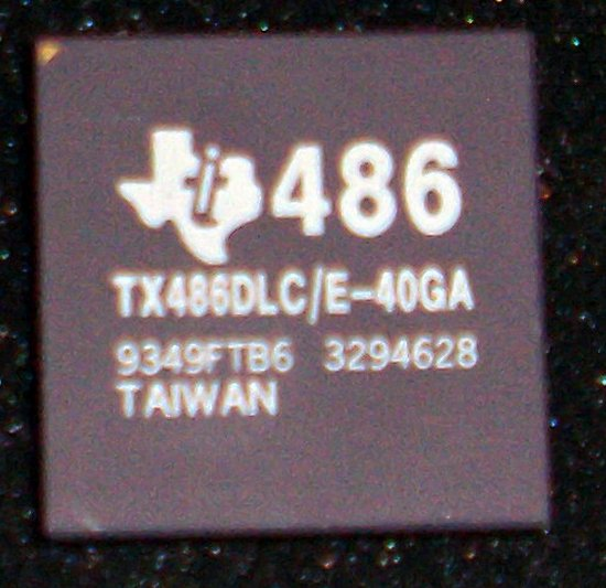 Picture of: texas instruments 486 overdrive processor tx486dlc/e-40ga and tech talk, comments, help & reviews.