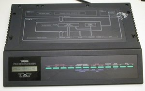 Picture of: yamaha synthesizer tx7 fm expander ( dx7 dx-7 tx-7 module ) and tech talk, comments, help & reviews.