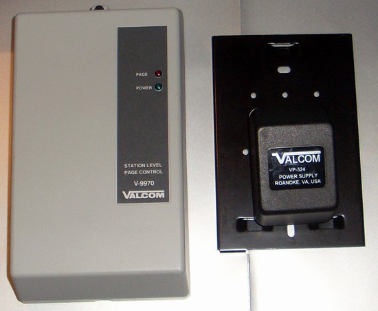 Picture of: valcom v-9970 digital 1 zone one-way page control v9970 centrex adapter and tech talk, comments, help & reviews.