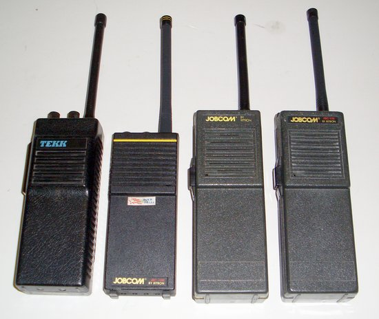Picture of: jobcom ritron tekk vhf two way radio walkie talkies lot of 4 and tech talk, comments, help & reviews.
