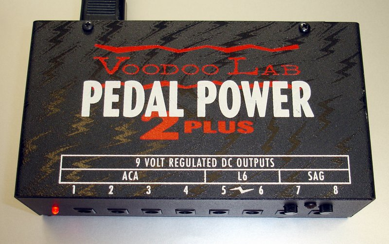Picture of: voodoo lab pedal power 2 plus and tech talk, comments, help & reviews.