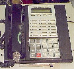 Picture of: walker marathon telephone mk-30e and tech talk, comments, help & reviews.