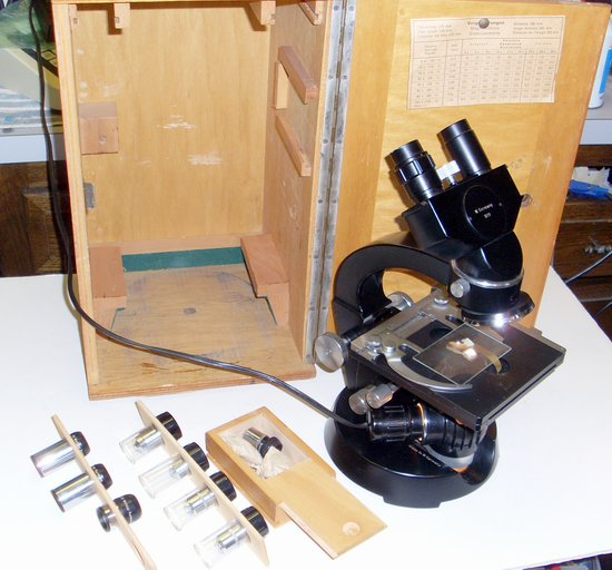 Picture of: wetzlar binocular simplex 1019 microscope and tech talk, comments, help & reviews.