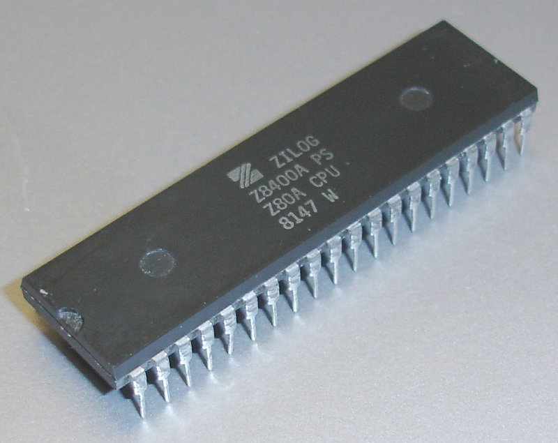 Picture of: zilog z8400aps z80a cpu 40-pin dip z8400a vintage processor and tech talk, comments, help & reviews.