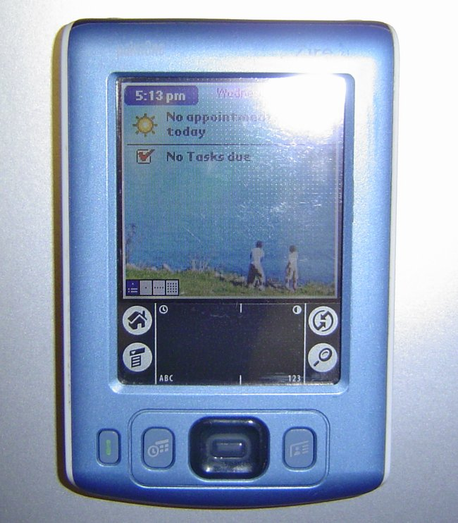 Picture of: palm one zire 31 pda and tech talk, comments, help & reviews.